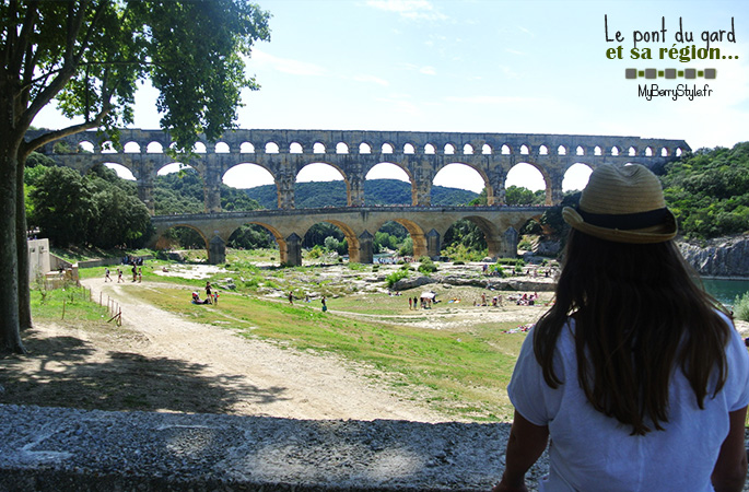 pont du Gard musée haribo avignon Nîmes arène