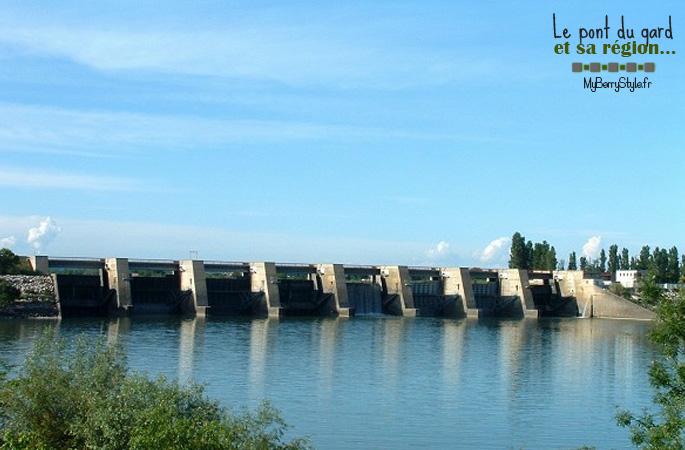 barrage de vallabrègues
