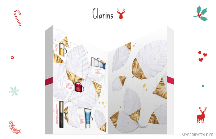 calendrier de l'avent 2015 beauté clarins